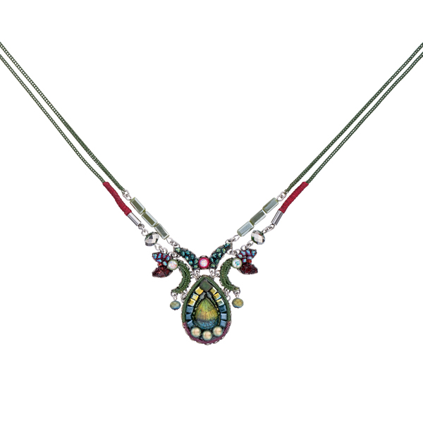 Ayala Bar Summer Lawns Necklace C3014 Jewellery Jewelry Sally Bourne Interiors London Swarovski Crystals