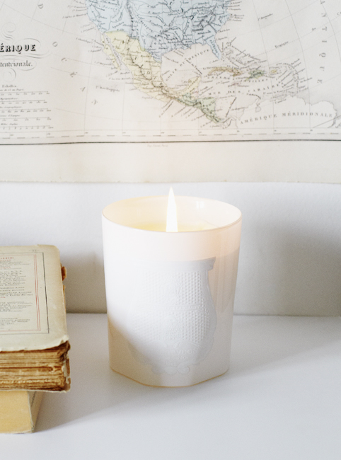 Cire Trudon Candle White Sally Bourne Interiors