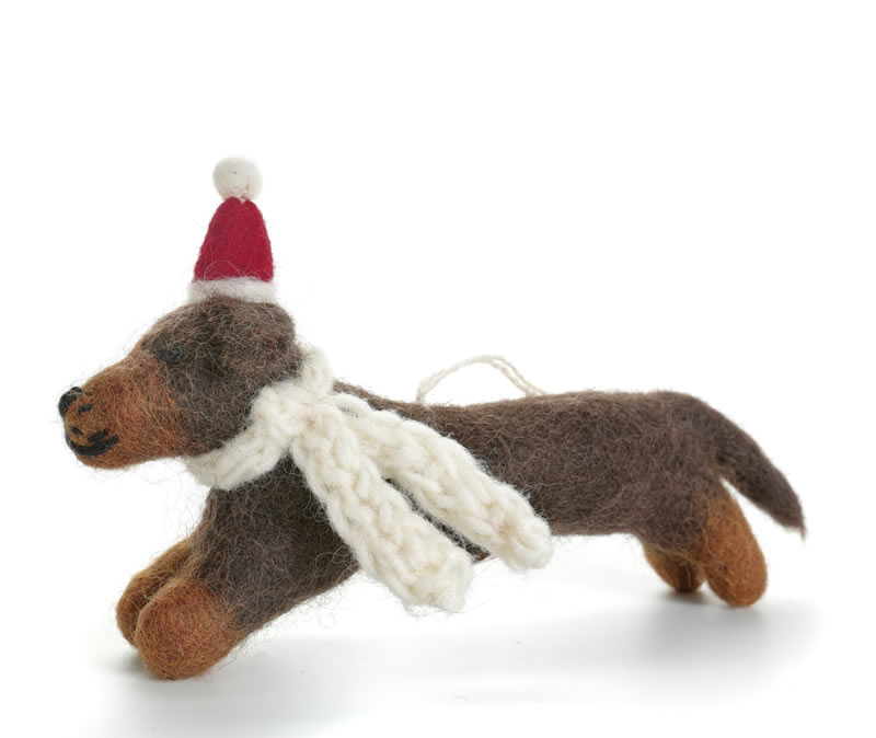 Dachshund Decoration Christmas Decoration