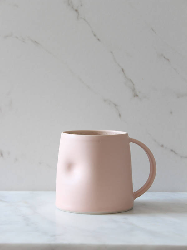 Emma Lacey Mug everyday at Sally Bourne Interiors Handmade ceramic muswell hill