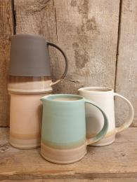 Emma Lacey Rainbow Jug Sally Bourne Interiors Ceramics handmade made in UK