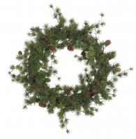 Larix Wreath 47cm Shishi at Sally Bourne Interiors