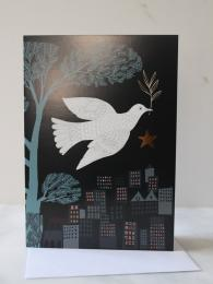 Lush Design Dove Card at Sally Bourne Interiors London Muswell Hill Greetings