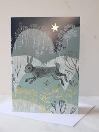 Lush Design Rabbit Card at Sally Bourne Interiors London Muswell Hill Greetings