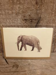 Mini Elephant Card Penny Lindop at Sally Bourne Interiors London
