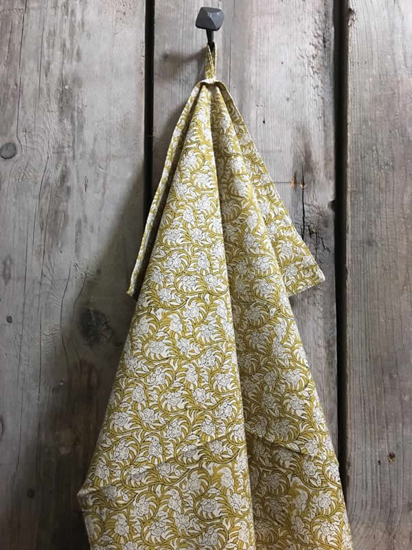 Nisha Curry Tea towel Bungalow Sally Bourne Interiors