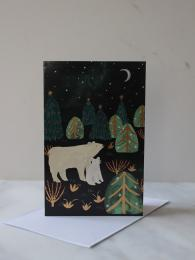 Roger La Borde Christmas Cards 8 pack Northern Light at Sally Bourne Interiors London Muswell Hill