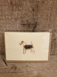 Penny Lindop Terrier Mini Card Sally Bourne Interiors Muswell Hill
