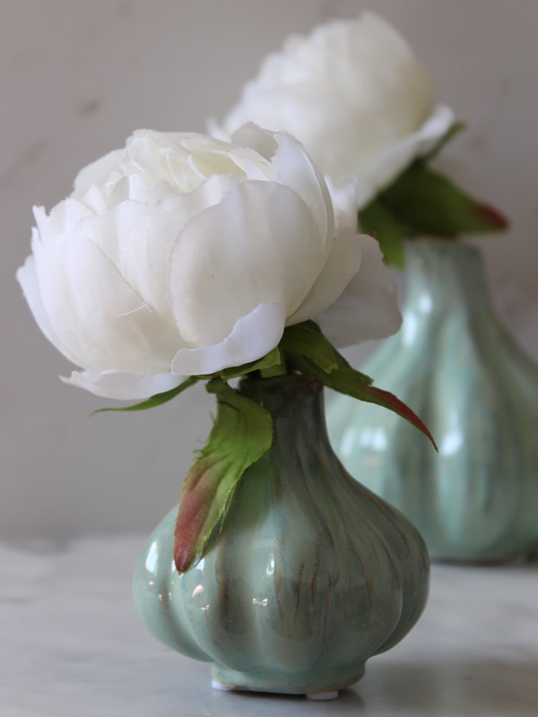 Pale Green Vases