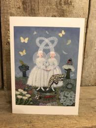 Pale Sisters Card Matilda Harrison Muswell Hill Sally Interiors Design