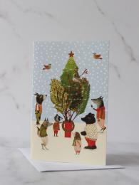 Procession Pack 8 Cards Roger la Borde christmas card