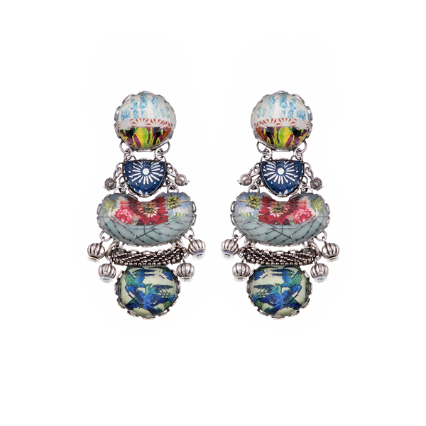 Ayala Bar Earrings R1260 handmade jewellery at sally bourne interiors london muswell hill