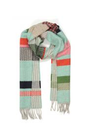 Wallace and Sewell Lambswool Osaka Scarf Mint