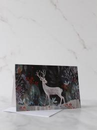 Silver Stag Pack 8 Cards Roger la Borde