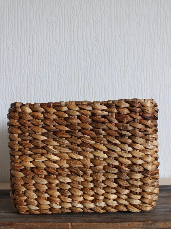 Water Hyacinth Basket Sally Bourne Interiors London Muswell Hill