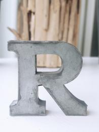 Zinc Letter R Alphabet Sally Bourne Interiors