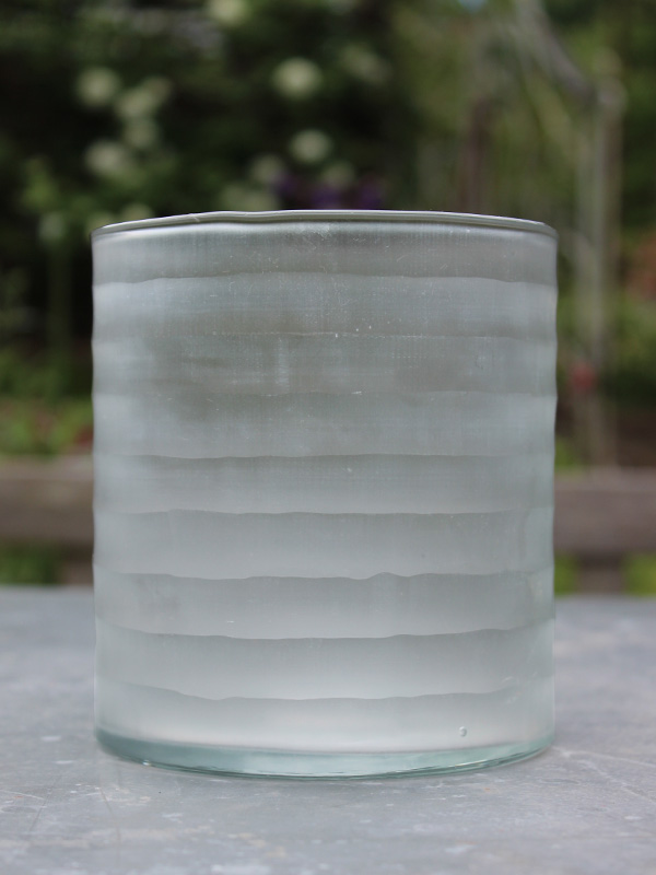 RST Striped Ice Glass Hurricane