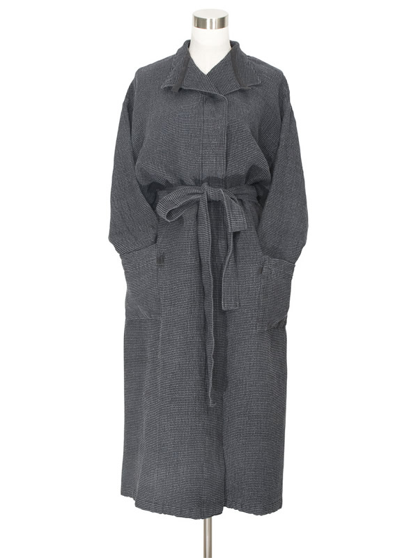 Lapuan Kankurit Terva Graphite Bathrobe sally bourne Interiors London