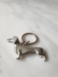 Lancaster and Gibbings Dachshund Keyring at Sally Bourne Interiors London Christmas Gift Idea