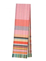Wallace and Sewell Silk Lambswool Bondone Scarf Pink