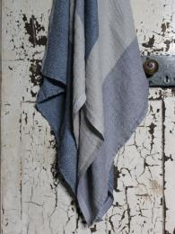 LKF Terva Linen Towel Blueberry Multi
