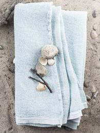 Lapuan Kankurit Terva Linen Towel Turquoise Sally Bourne Interios London Uk