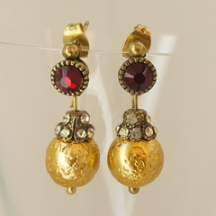 Michal Negrin Gold Earrings