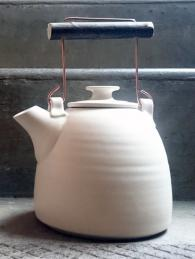 Adam Ross White Teapot Ceramics