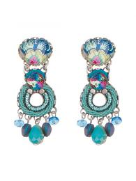 Ayala Bar Earrings 0757 Jewellery Jewelry Sally Bourne Interiors London Swarovski Crystals