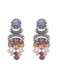 Ayala Bar Earrings 0763 Swarovski Crystals Jewellery Jewelry Sally Bourne Interiors London UK