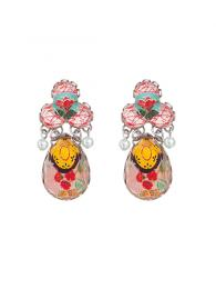 Ayala Bar Earrings 0768 Jewellery Jewelry Sally Bourne Interiors London Swarovski Crystals