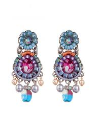 Ayala Bar Earrings 1265 Jewellery Jewelry Sally Bourne Interiors London Swarovski Crystals
