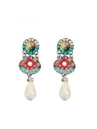 Ayala Bar Earrings 1272 Jewellery Jewelry Sally Bourne Interiors London Swarovski Crystals