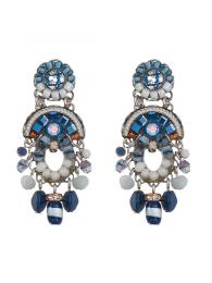 Ayala Bar Earrings 1276 Jewellery Jewelry Sally Bourne Interiors London Swarovski Crystals