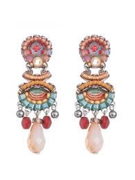 Ayala Bar Earrings 1282 Jewellery Jewelry Sally Bourne Interiors London Swarovski Crystals