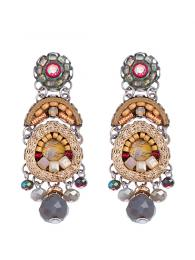 Ayala Bar Earrings 1294 Jewellery Jewelry Sally Bourne Interiors London Swarovski Crystals