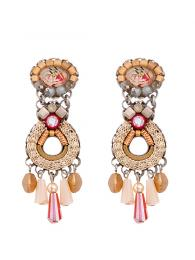 Ayala Bar Earrings 1295 Jewellery Jewelry Sally Bourne Interiors London Swarovski Crystals