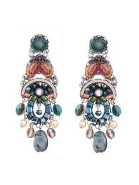 Ayala Bar Earrings 1307 Jewellery Jewelry Sally Bourne Interiors London Swarovski Crystals