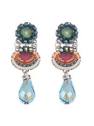 Ayala Bar Earrings 1310 Jewellery Jewelry Sally Bourne Interiors London Swarovski Crystals