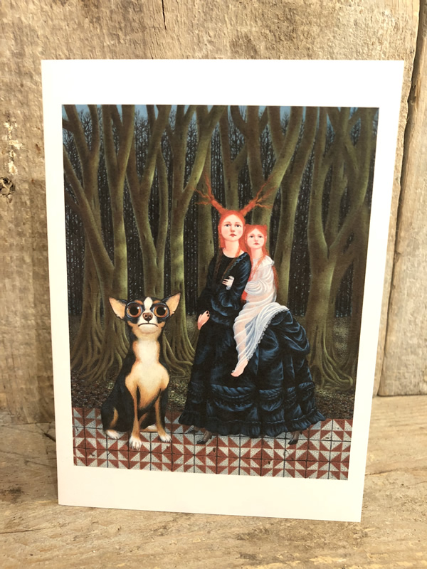Matilda Harrison Big Eyes Card Sally Bourne Interiors