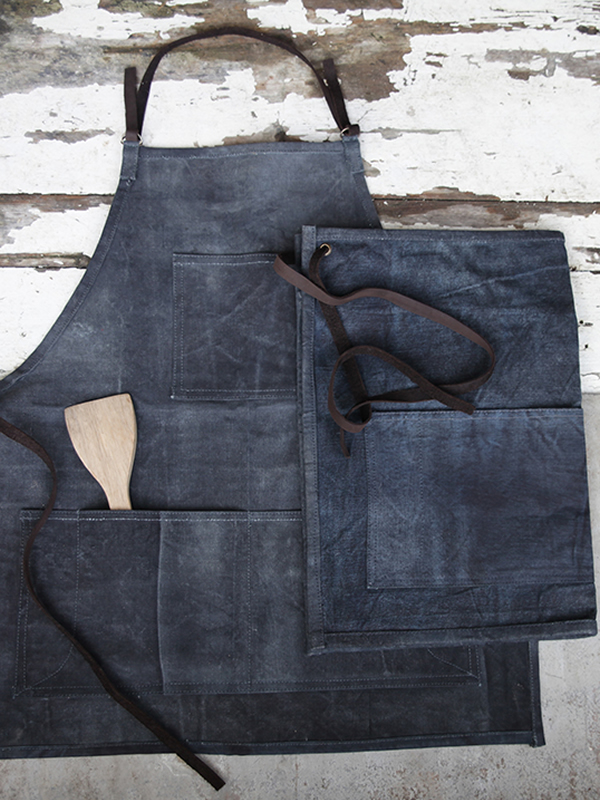 Canvas Apron Half and Full Nkuku