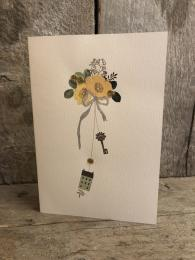 Elena Deshmukh Key New Home Card Sally Bourne Interiors Muswell Hill London UK
