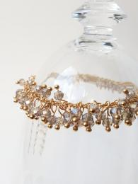 My Willow and White Gold Champagne Bracelet Jewellery gemstone Sally Bourne Interiors