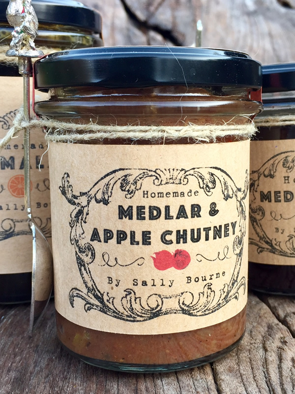 Sally Bourne Interiors Homemade Chutney with Spoon Gifts for him East Sussex