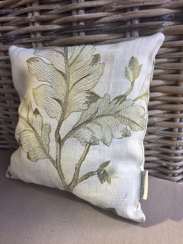 Linen lavender scented pillow, Colefax and Fowler fabric