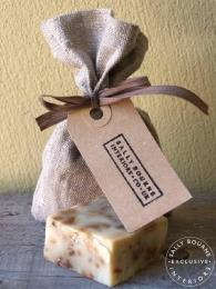 Lavender Soap in a Bag Handmade homemade exclusive to sally bourne interiors
