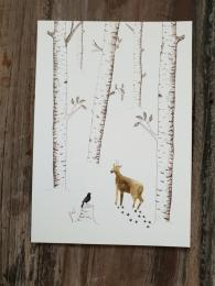 Little Forest Card Christmas Card Sally Bourne Interiors