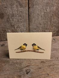 Mini Great Tit Card Penny Lindop Sally Bourne Interiors London