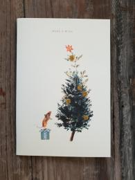 Mouse Wish Card Greetings Christmas Card