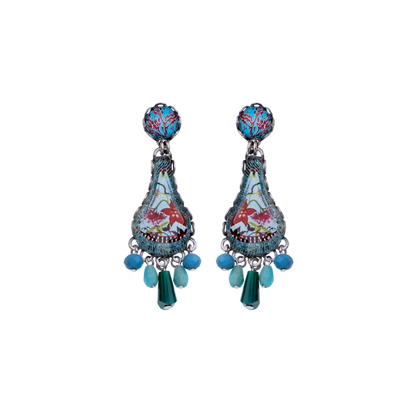 Ayala Bar Astral Light Earrings R1013 Jewellery Jewelry Sally Bourne Interiors London Swarovski Crystals